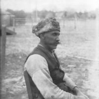 Profile of Mattapony man. Mixed blood 1900.jpg
